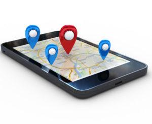 SMS géolocalisé